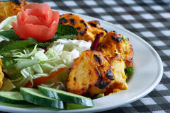 Tandoori chicken tikka Royalty Free Stock Photography