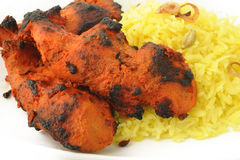Tandoori chicken tikka Stock Photo