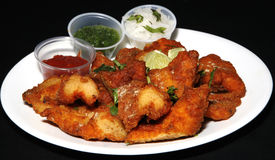 Tandoori crispy fish Stock Photography
