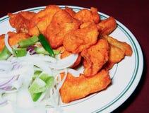 Tandoori fish in plate Stock Photo