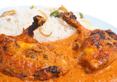 Tandoori Huhn Masala Curry Lizenzfreie Stockbilder