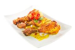 Цыпленок Tandoori III Стоковые Изображения