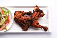 Tandoori kurczak, piec na grillu kurczaka grill lub kurczak lub Obraz Stock
