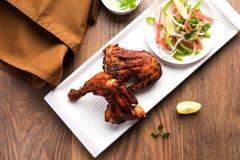 Tandoori kurczak, piec na grillu kurczaka grill lub kurczak lub Obrazy Stock
