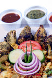 Tandoori mint chicken Stock Photography