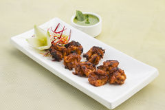 Tandoori Prawns-barbecued. From India royalty free stock image