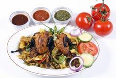 Tandoori quail Royalty Free Stock Image