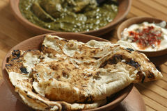 Tandoori Roti is an Indian unleavened bread Royalty Free Stock Photos