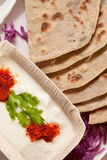Tandoori Roti is Indian unleavened bread Royalty Free Stock Photos