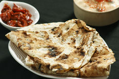 Tandoori Roti is Indian unleavened bread Royalty Free Stock Photo