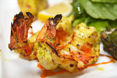 Tandoori shrimp Stock Photos