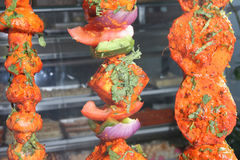 tandoori vegetables Stock Photography