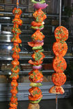 tandoori vegetables Royalty Free Stock Photos