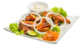 Tandori Chicken. Traditional Indian cuisine royalty free stock photography