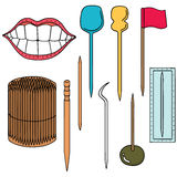 tandpetare Arkivbilder