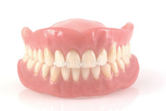 tandproteser Arkivfoton