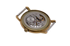 Tandrad van horloge Royalty-vrije Stock Foto's