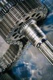 Tandraderen en toestellen, ruimtevaartdelen Royalty-vrije Stock Foto's
