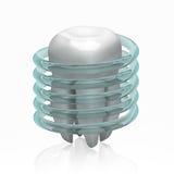 Tandskydd - den höga upplösningsbilden för begreppet 3d - Fotografering för Bildbyråer