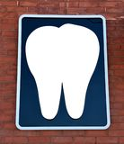 Tandtecken Arkivbild