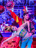 Tang Dynasty dance and Music Show at the Sunshine Grand Theatre, Stock Photography