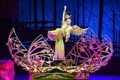 """The Tang Dynasty ladies dance-Dance drama """"The Dream of Maritime Silk Road"""" Stock Photo"""
