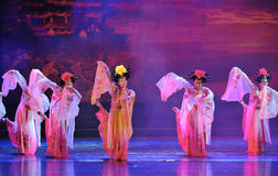 Tang Dynasty Princess Dance Lizenzfreie Stockfotos