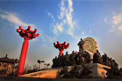 Tang dynasty statue xian china Stock Photography