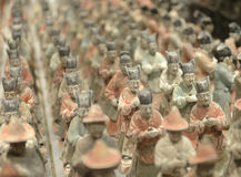 Tang figurines Royalty Free Stock Images