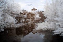 Tang's wall infrared Stock Image