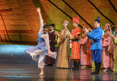 """Tang Shiyi-Dance drama """"The Dream of Maritime Silk Road"""". Dance drama """"The Dream of Maritime Silk Road"""" centers on the plot of two generations of a Stock Images"""