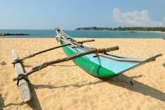 Tangalle海滩在斯里兰卡 图库摄影