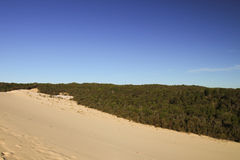 Tangalooma sand hill Stock Images