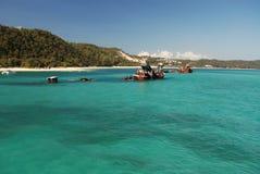 Tangalooma Wracke auf Moreton Insel Stockfotos