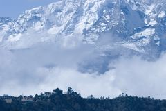 Tangboche in Nepal Royalty Free Stock Photos