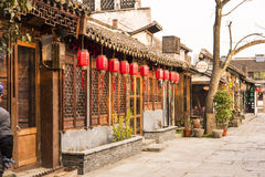 Tangdong street in the morning royalty free stock photo