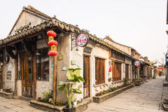 Tangdong street in the morning Stock Images