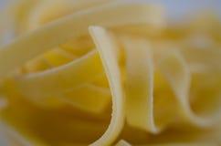 Tangelini della pasta Fotografia Stock