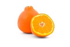 Tangelosinaasappel van Minneola stock afbeeldingen