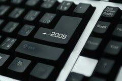 tangentbord 2009 Arkivbild