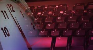 tangentbord Arkivbild