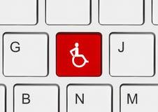 tangentbord för ogiltig tangent för dator Royaltyfria Foton