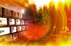 tangentbordavstånd Arkivbild