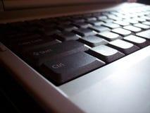 tangentbordbärbar dator Fotografering för Bildbyråer