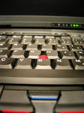 tangentbordbärbar datoranteckningsbok fotografering för bildbyråer