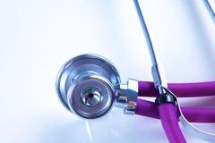 tangentbordbärbar datorstetoskop Bild för begrepp 3D Royaltyfria Foton