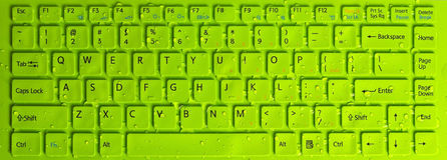 Tangentborddator arkivbilder