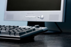 tangentbordkontor Royaltyfri Foto