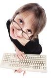 tangentbordlärare Arkivbild