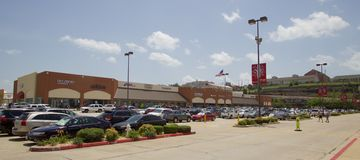Tanger出口购物中心在布兰松,密苏里 库存图片